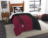Arizona Cardinals NFL Twin Applique Comforter Set