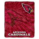 "Arizona Cardinals ""Strobe"" Sherpa Throw"