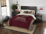 "Arizona Coyotes NHL ""Draft"" Full/Queen Comforter Set"