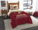 "Arizona Coyotes NHL ""Draft"" Twin Comforter Set"