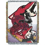 "Arizona Coyotes NHL ""Home Ice Advantage"" Woven Tapestry Throw"