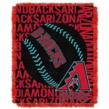 "Arizona Diamondbacks MLB ""Double Play"" Woven Jacquard Throw"