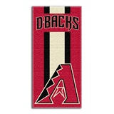 "Arizona Diamondbacks MLB ""Zone Read"" Beach Towel"