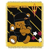 "Arizona State Sun Devils ""Fullback"" Baby Woven Jacquard Throw"