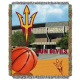 "Arizona State Sun Devils ""Home Field Advantage"" Woven Tapestry Throw"