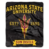 "Arizona State Sun Devils ""Label"" Raschel Throw"