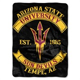 "Arizona State Sun Devils ""Rebel"" Raschel Throw"
