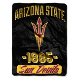 "Arizona State Sun Devils ""Varsity"" Micro Raschel Throw"