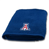 Arizona Wildcats Applique Bath Towe