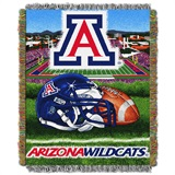 "Arizona Wildcats ""Home Field Advantage"" Woven Tapestry Throw"