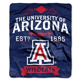 "Arizona Wildcats ""Label"" Raschel Throw"