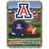 "Arizona Wildcats NCAA ""Home Field Advantage"" Woven Tapestry Throw"