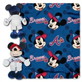 "Atlanta Braves MLB ""Mickey"" Hugger with Throw"