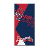 "Atlanta Braves MLB ""Puzzle"" Beach Towel"