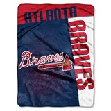 "Atlanta Braves MLB ""Strike"" Raschel Throw"