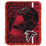"Atlanta Falcons ""Double Play"" Woven Jacquard Throw"