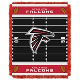 "Atlanta Falcons ""Field"" Baby Woven Jacquard Throw"