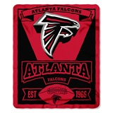 "Atlanta Falcons ""Marquee"" Fleece Throw"