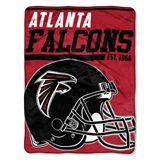 "Atlanta Falcons NFL ""40 yard Dash"" Micro Raschel Throw"