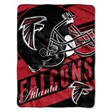 "Atlanta Falcons NFL ""Deep Slant Micro Raschel Throw"