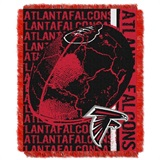 "Atlanta Falcons NFL ""Double Play"" Woven Jacquard Throw"