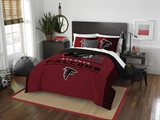 "Atlanta Falcons NFL ""Draft"" Full/Queen Comforter Set"