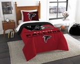 "Atlanta Falcons NFL ""Draft"" Twin Comforter Set"