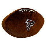 Atlanta Falcons NFL  Football Shaped 3D Plush Pillow