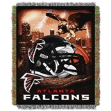 "Atlanta Falcons NFL ""Home Field Advantage"" Woven Tapestry Throw"