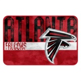 "Atlanta Falcons NFL ""Worn Out"" Bath Mat"
