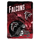 "Atlanta Falcons ""Stagger"" Micro Raschel Throw"