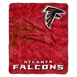 "Atlanta Falcons ""Strobe"" Sherpa Throw"