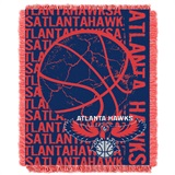 "Atlanta Hawks NBA ""Double Play"" Woven Jacquard Throw"