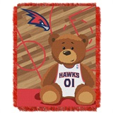 "Atlanta Hawks NBA ""Half-Court"" Baby Woven Jacquard Throw"