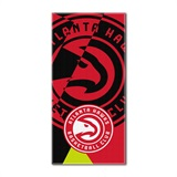 Atlanta Hawks NBA Puzzle Beach Towel