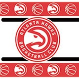 Atlanta Hawks  Wall Border