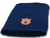 Auburn Tigers Applique Bath Towel