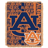"Auburn Tigers ""Double Play"" Woven Jacquard Throw"