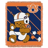 "Auburn Tigers ""Fullback"" Baby Woven Jacquard Throw"