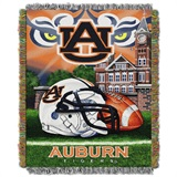 "Auburn Tigers ""Home Field Advantage"" Woven Tapestry Throw"