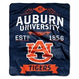 "Auburn Tigers ""Label"" Raschel Throw"