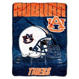 "Auburn Tigers ""Overtime"" Micro Raschel Throw"