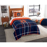 "Auburn Tigers ""Soft & Cozy"" Twin Comforter Set"