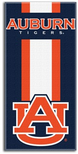 "Auburn Tigers ""Zone Read"" Beach Towel"