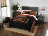"Baltimore Orioles MLB ""Grand Slam"" Full/Queen Comforter Set"