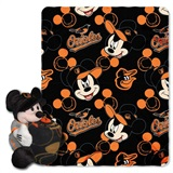 "Baltimore Orioles MLB ""Mickey"" Hugger with Throw"