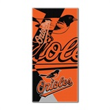 "Baltimore Orioles MLB ""Puzzle"" Beach Towel"