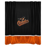 Baltimore Orioles Sidelines Shower Curtain