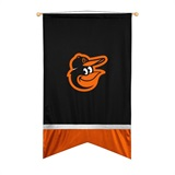 Baltimore Orioles Sidelines Wall Flag