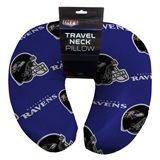 Baltimore Ravens Beaded Neck Pillow